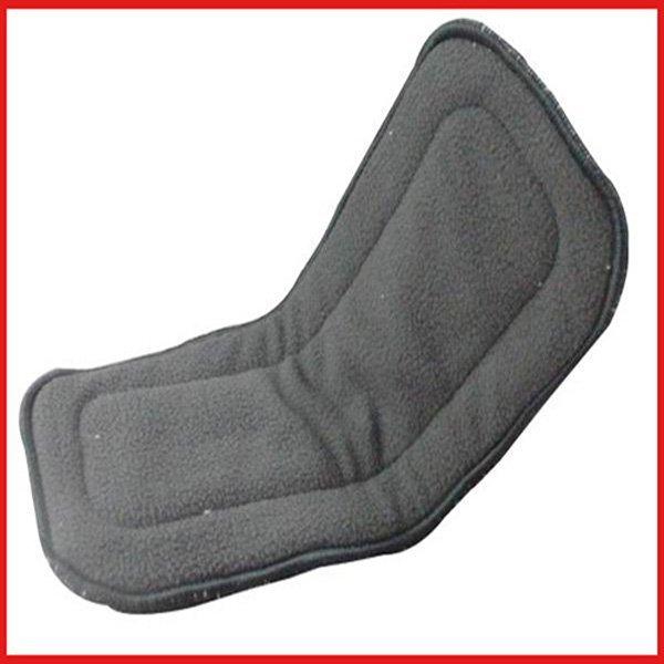 baby nappies top hot 50 Pcs / lot 100% Natural Bamboo Charcoal Fabric Diaper BLD3004 Inserts(China (Mainland))