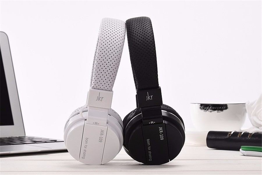 EDWO 109 Portable Wired Headphone Headset With Microphone Noise Cancelling Stereo Bass Music Earphone For iPhone Samsung Xiaomi