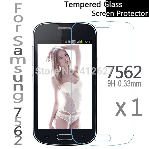For Samsung Galaxy Trend Duos S7562 S7560 Trend Plus S7580 S7582 Premium Tempered Screen Protector 0.33mm Glass Film