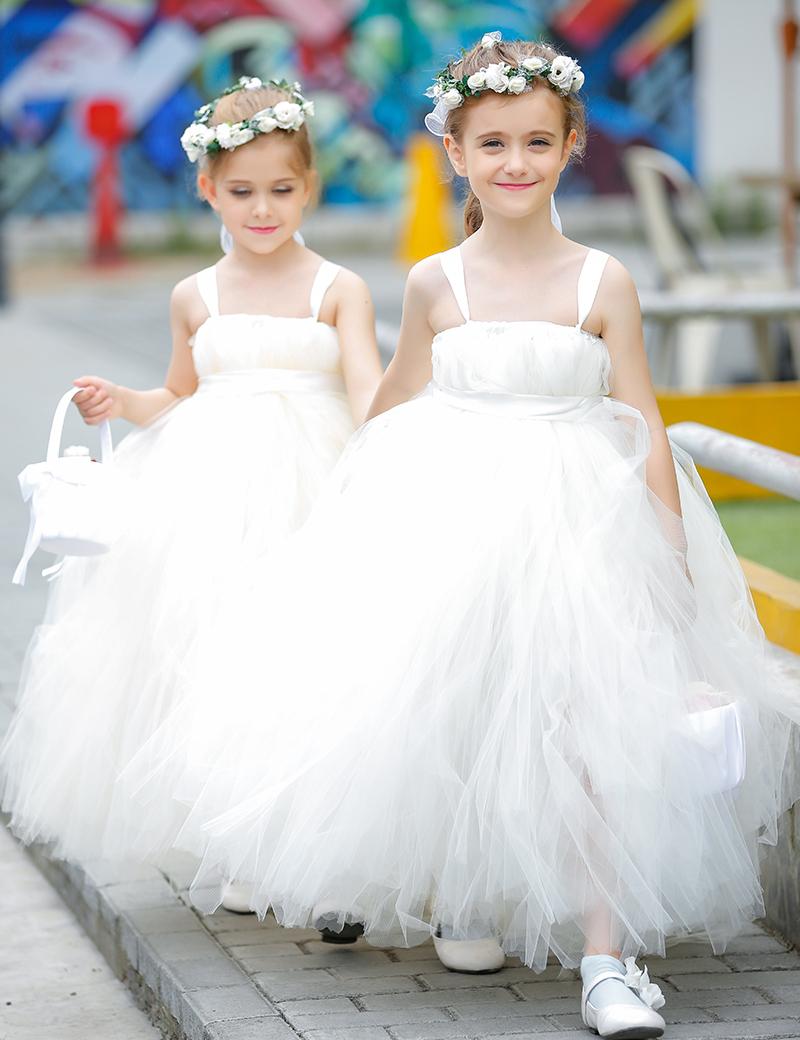 infant wedding girls dresses