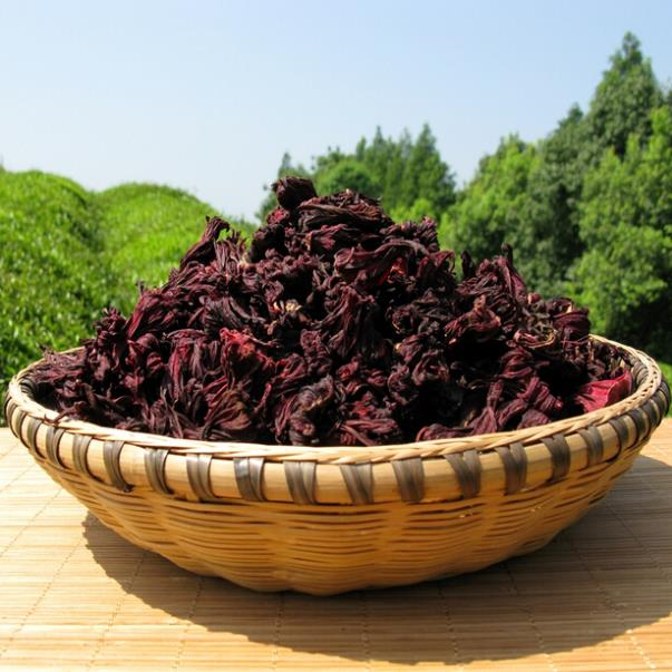 Гаджет  50g Roselle tea natural Sugar-free herbal tea selection of premium beauty whitening healthy sulfur-free hibiscus flower tea None Еда