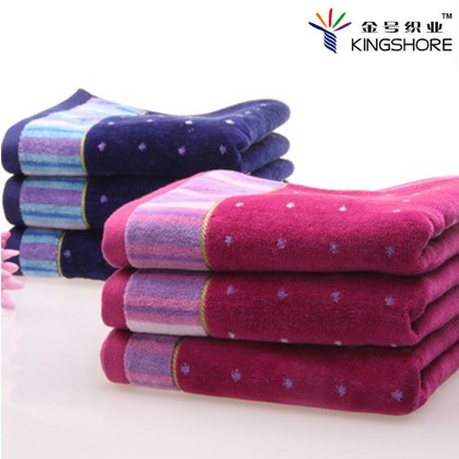 100% cotton towel note jacquard thick soft lovers washouts faceable gift - Magic International- Co.,Ltd store