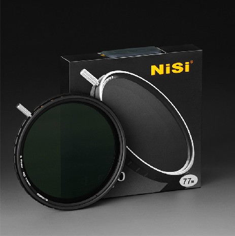 NISI 67 72 77 82 mm ND4-500 Ultra Thin Fader ND Adjustable freduce light Filter for canon nikon sony pentax camera(China (Mainland))