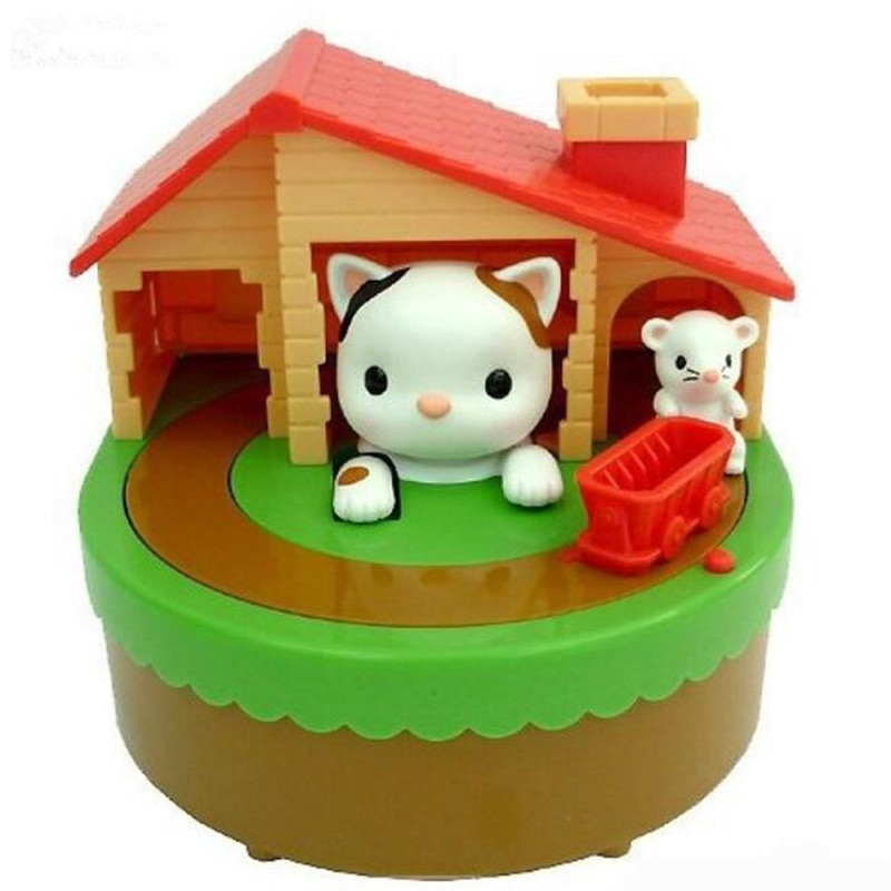 Mouse Cat Money Box Automated Stealing Coin Cat Mouse Coins Penny Cent Piggy Bank Saving Box Money Box Child Novelty Gifts(China (Mainland))