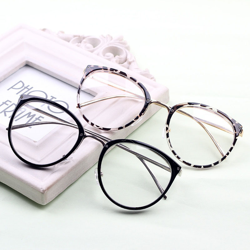 Large Frame Retro Reading Glasses : 2015 New Korean tide fashion glasses retro big glasses big ...