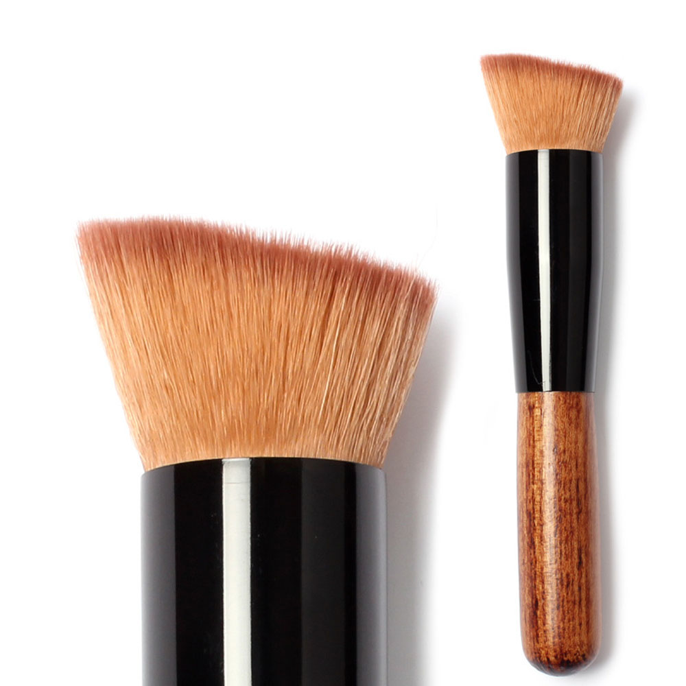 Professional Foundation Brush Blush Base Women Cosmetic Makeup Brushes Facial Mask Brush(China (Mainland))