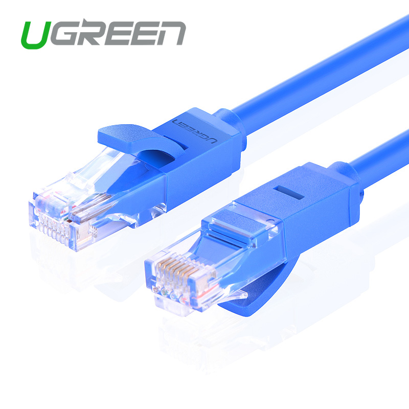 Ugreen New 1M 2M 3M 5M 10M 20M Cat 6 Round UTP Gigabit Ethernet Network Cable RJ45 Patch Lan Cord for PC Laptop(China (Mainland))
