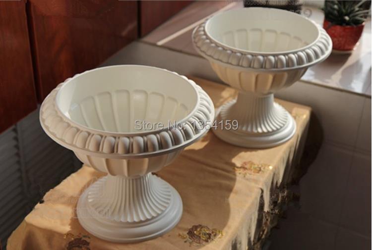 Online Kaufen Großhandel flower pot plastic wedding aus