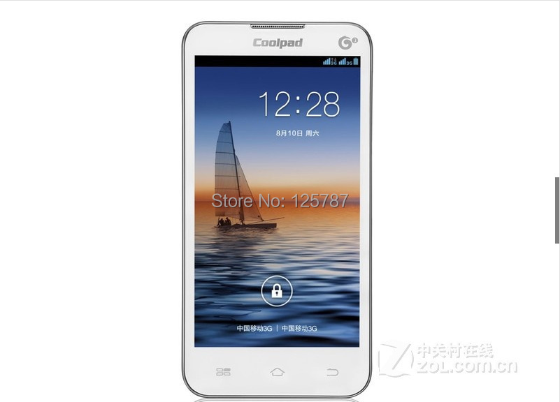 Coolpad 8079 4.5 Inch Dual Core Android 4.2 512MB RAM 4GB ROM 2MP Dual Sim Bluetooth Cheap Mobile Phone(China (Mainland))