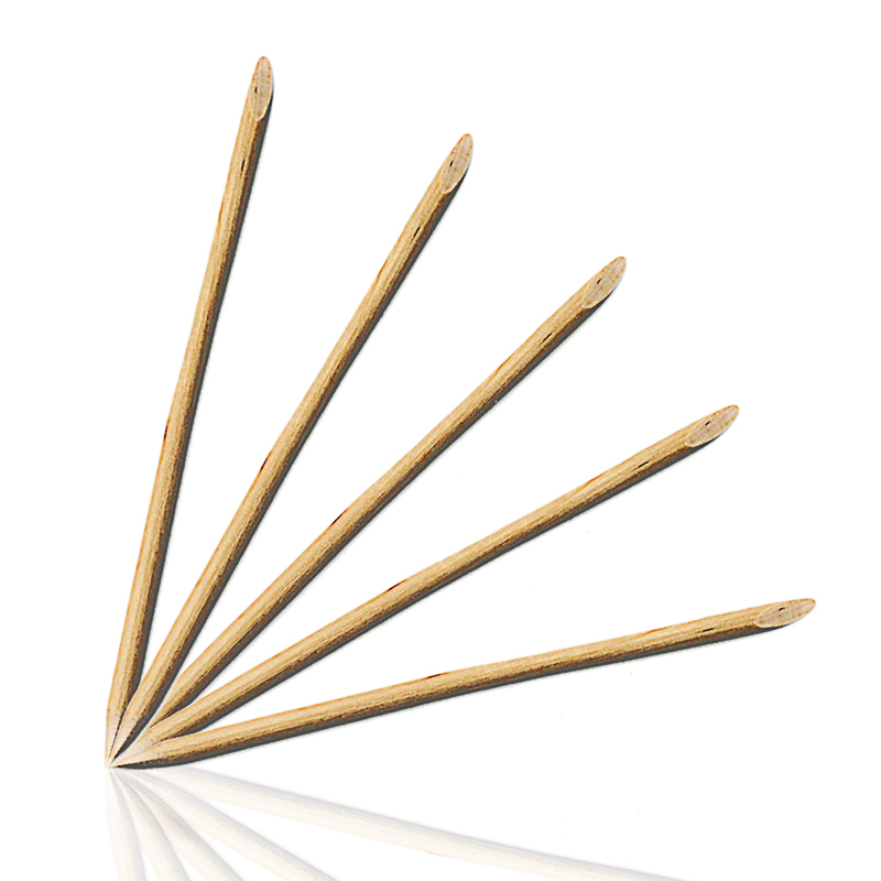 10pcs nail art orange wood stick cuticle pusher remover