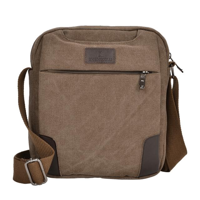 Мужчины брезент путешествие мешок на открытом воздухе спорт склонны наплечная сумка ...