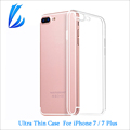 New Arrival Ultra Thin TPU HD Transpar Soft Cover Case For iPhone 7 7 Plus Case