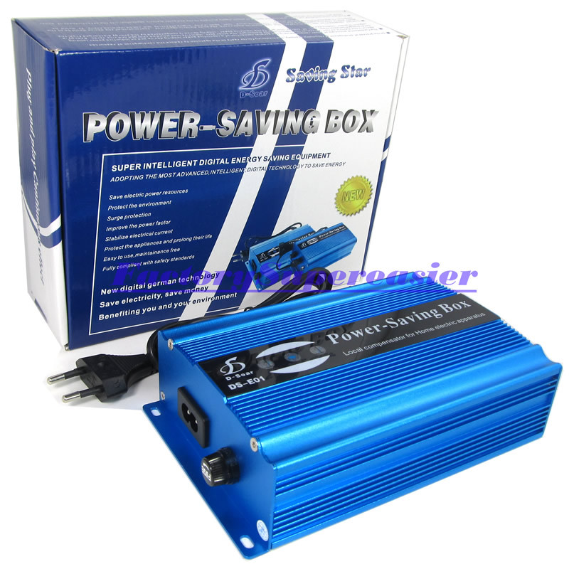 50KW Power Energy Saver Electricity Saving Box Up to 35% Money & EU Plug For Home Office Shop 2015 Hot Sale CE RoSH Certificated(China (Mainland))
