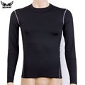 MADHERO new arrival fitness men long sleeve basketball running t shirts sports tshirt bodybuilding gym compression