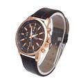 Fashion Women Men s Clock Geneva Leather Watches Analog Dial Quartz Sport Ladies Wrist Watch