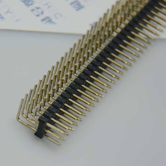 Гаджет  10PCs / banyak 2.54 mm lapangan 3 * 40 120pin, Tiga baris, Jenis sudut kanan konektor Pin Header None Электротехническое оборудование и материалы