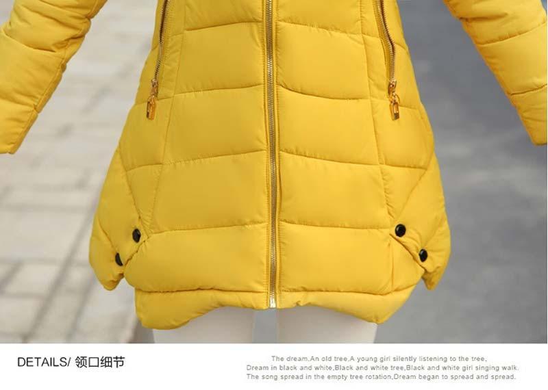 Скидки на 2016 зимние куртки женщин хлопок-ватник одежда вниз парка пальто свободного покроя большой Большой размер утолщение длинные пиджаки AE976