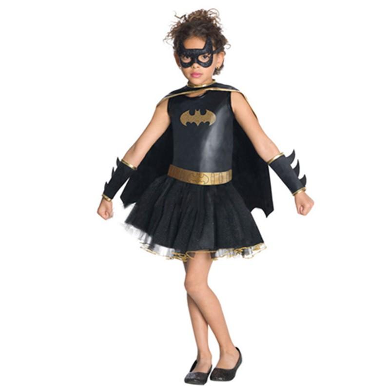 3-11 Age Rubies Bat Child Girl's Halloween Costume Superhero Fancy Dress Costume Sexy Costumes Kid Halloween L15289 L15289 (12) 800x800