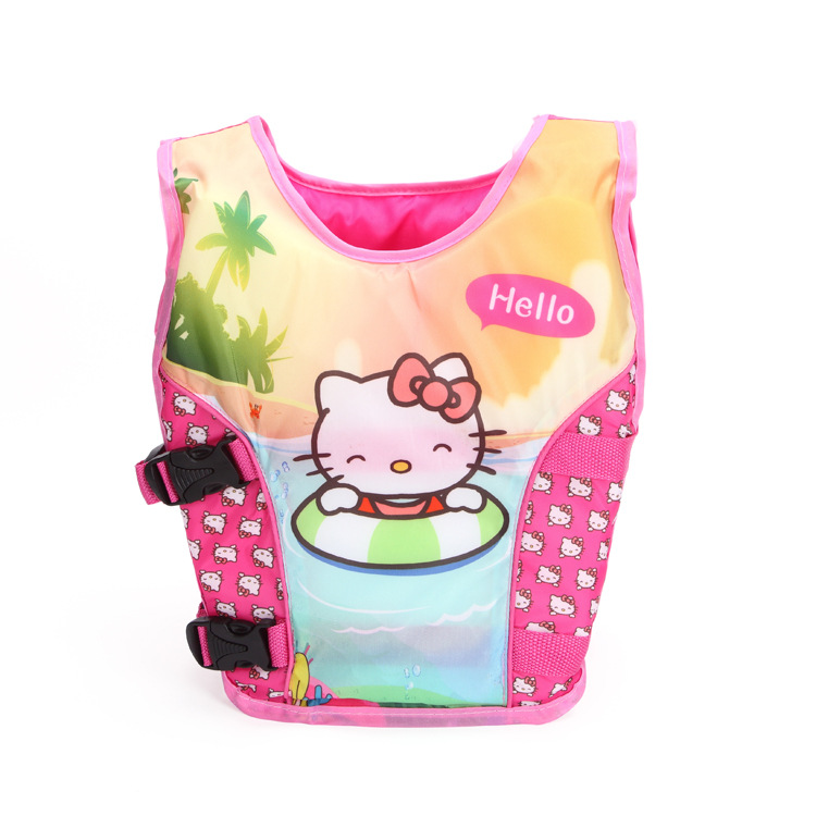 CE Approved Summer Swimming life vest Children's Soft Cartoon kids swimming vest / bathing suit / 2-8years old child life jacket(China (Mainland))