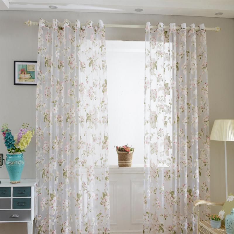 Online Get Cheap Sheer Curtains Pattern Alibaba Group