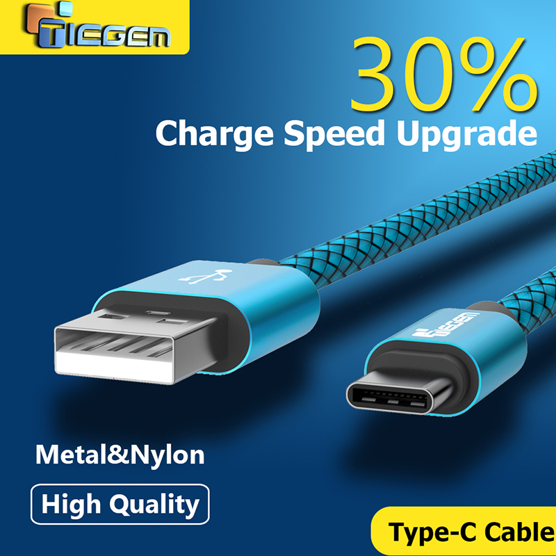 TIEGEM Usb 3.1 Type C cable USB Data Sync Charge Cable for Huawei p9 for OnePlus 2 ZUK Z1 Z2 For NEXUS 5X 6P Fast Charge Cable(China (Mainland))