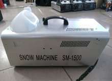 1500W snow machine / stage special effects equipment / soap foam equipment /DJ / KTV Wedding bar party stage performance(China (Mainland))
