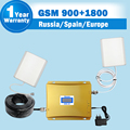 LCD display GSM 900 DCS 1800MHz Dual band cellphone signal booster amplifier mobile phone repeaters and