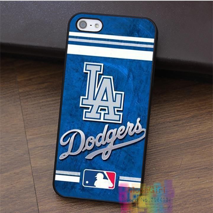 La Dodgers fashion cell phone case for iphone 4 4s 5 5s 5c SE 6 6s & 6 plus & 6s plus #LI1828(China (Mainland))