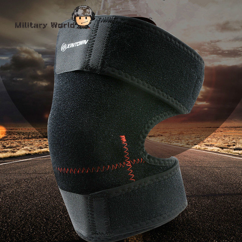 Breathable Basketball Sport Safety Kneepad Brace protector Knee Pads Sleeve Leg Warmers Riding Hiking Knee Support Bandage(China (Mainland))