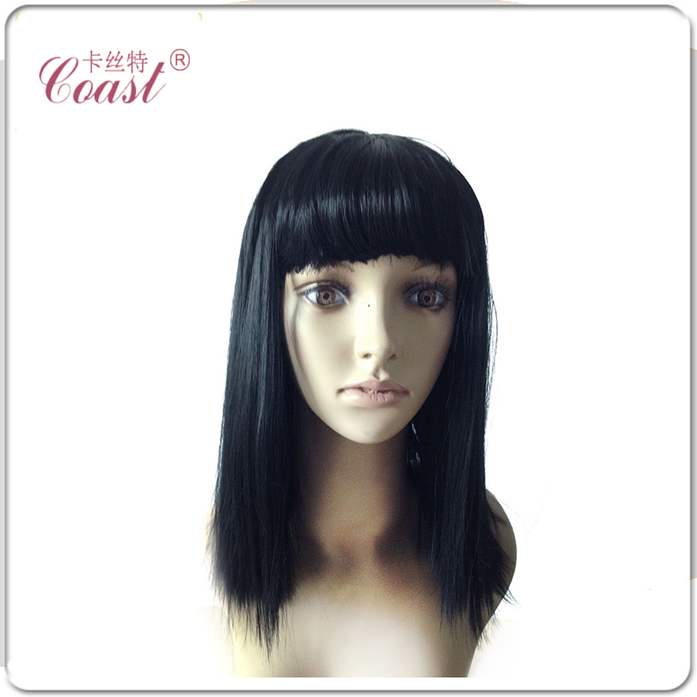 2015 Cosplay Party Natural Straight Wigs Full Long Black Wig Synthetic Hair Wig Fashion QY-P9001<br><br>Aliexpress