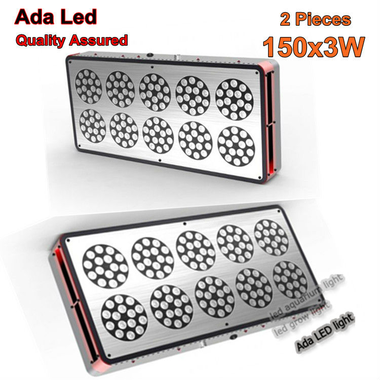 Two Led Panels Apollo Led 10 Grow Light 360W High Power 3W Lens Plant Flowering Lighting Leds Lamp Bulb(China (Mainland))