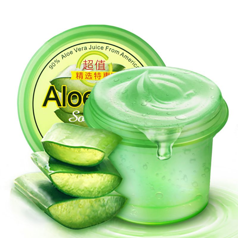 Unisex aloe vera gel to blain to imprint blain scar concave hole face cream