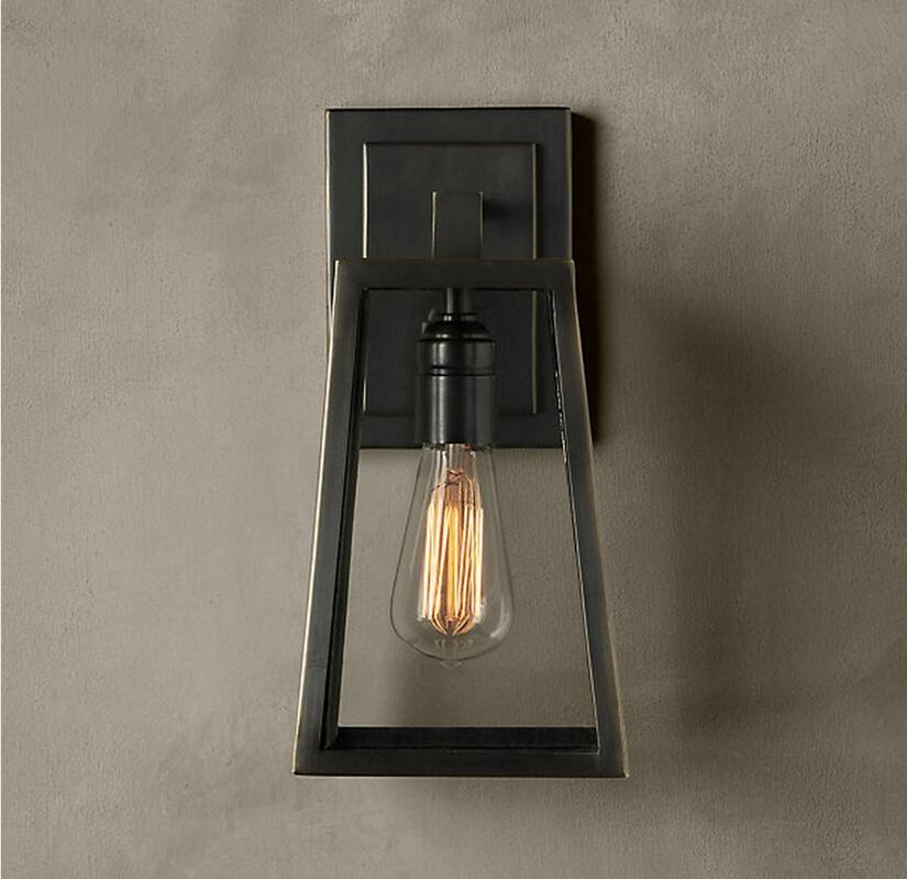 Aliexpress.com : Buy Nordico Creative Wall Lamp American Industrial RH LOFT Retro Sconce Balcony ...