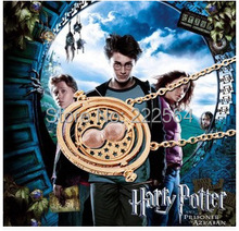 New Arrival 18K Gold Plated Harry Potter Necklace Time Turner Necklace Hermione Granger  100pcs  DHL free(China (Mainland))