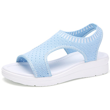MLANXEUE Mode Frauen Sandalen Für 2019 Atmungsaktive Komfort Einkaufen Damen Wanderschuhe Sommer Plattform Schwarz Sandale Schuhe(China)