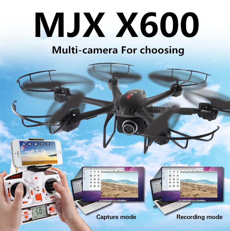 New MJX X600 dron 2.4G RC hexa copter drone rc helicopter 6-axis can add C4002&C4005 camera(FPV) more powerful than quadcopter(China (Mainland))