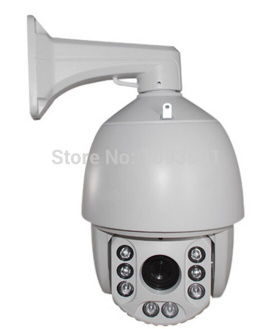 Factroy Onvif 1080P 2MP PTZ IP Camera with 18x zoom IR 120M outdoor waterproof mid speed dome camera(China (Mainland))