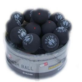 Medium speed (red dots) Squash ball /professional match ball(China (Mainland))