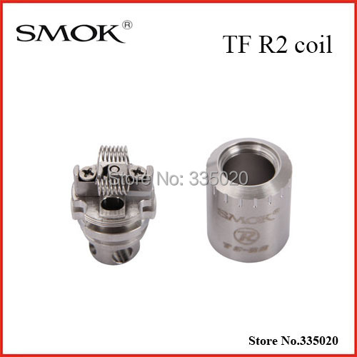 Original SMOK TF-R2 Rebuildable Dual Coil 0.25ohm TF R2 Coil TF-R2 Replacement Coils For TFV4 Tank  <br><br>Aliexpress