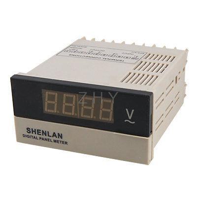 3 1/2 Red LED Digital Display Volt Panel Meter AC 0-600V Voltmeter<br><br>Aliexpress