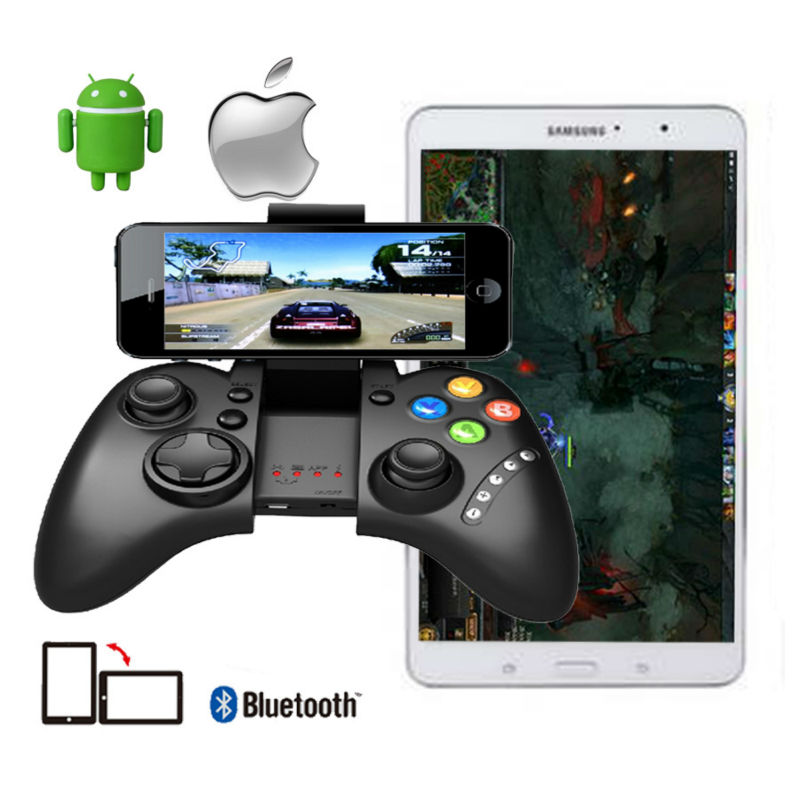 Joystick ipega PG 9021 PG-9021 Wi-fi Bluetooth Recreation Gaming Controller for Android / iOS MTK cellphone Pill PC TV BOX Joyst