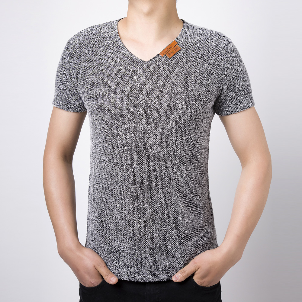 Natural linen t shirts for man fashion relaxed mens tees for Mens short sleeve linen dress shirts