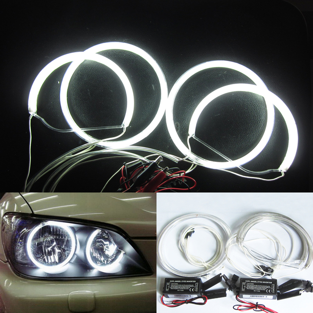 CCFL Angel Eyes Halo Headlight Ring For Lexus 98-05 IS200 IS300
