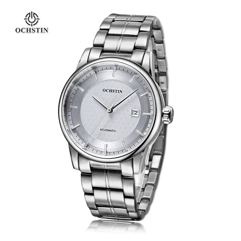 Original OCHSTIN Men Mechanical Watches Men Luxury Brand Full Steel Waterproof 30m Business Automatic Wristwatches Relogio male<br><br>Aliexpress