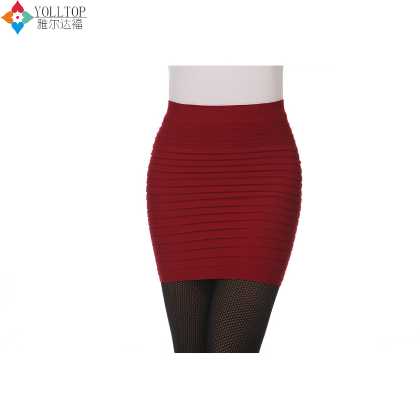 2016 summer style women Sexy Candy color Big yards Package hip skirt A word skirts joker women Short skirt wholesale(China (Mainland))