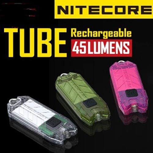 10pcs 2014 New Nitecore T Series Tube 45 Lumens USB Rechargeable Keychain Light,Freeshiping(China (Mainland))