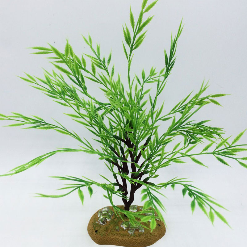 2017 Limited 18cm 1pcs Branch Plastic Home Church Furniture Sand Table Model Tiny Tree Decor Artificial Moss Grass Plant Willow(China (Mainland))