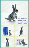 LOZ алмазные блоки животных минифигурка минимальный блок на мир diy маленьких животных блоков Миньон здание игрушки