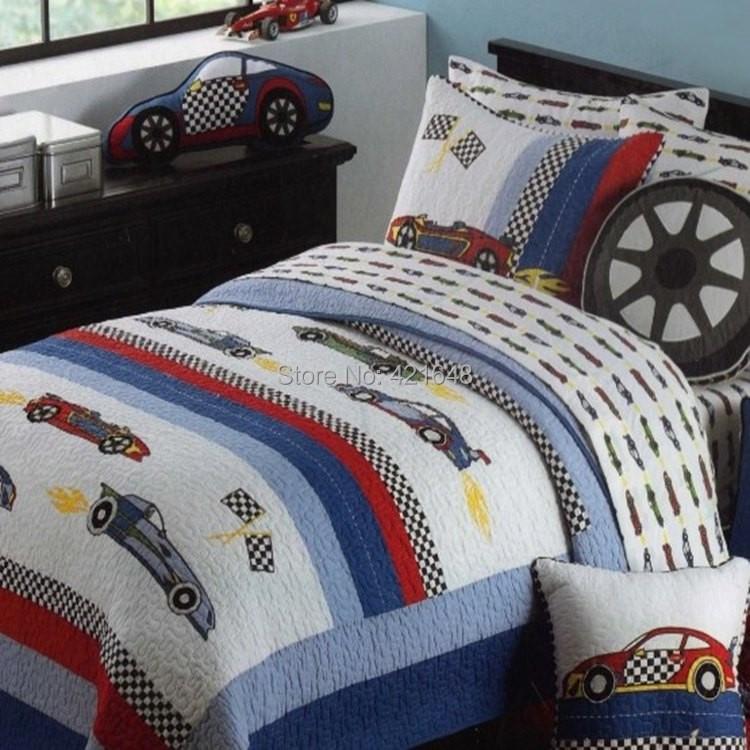 Race Car Full Size Bedding