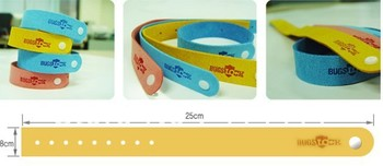 Free shipping 150pcs/lot Mosquito Bracelet Repellent Band Camping Killer Bangle Wristband